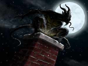 krampus chimney