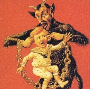krampus eating