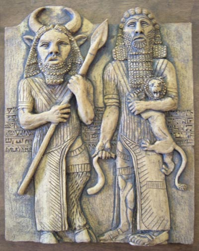 gilgamesh response Because none could stand against gilgamesh, enkidu was created in response  to the pleas of the people he was intended to become friend.