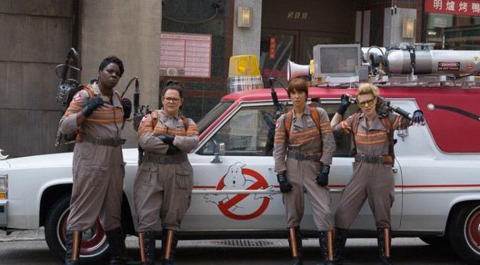 The Female Ghostbusters – Competing With A Ghost