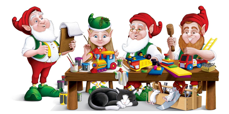 lemax santas workshop coloring pages - photo#5