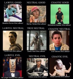 types-of-shia-labeouf